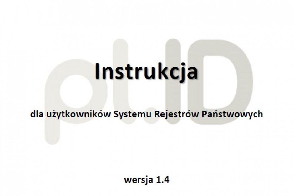 Instrukcja dla użytkowników Systemu Rejestrów Państwowych, wdrożenie systemu