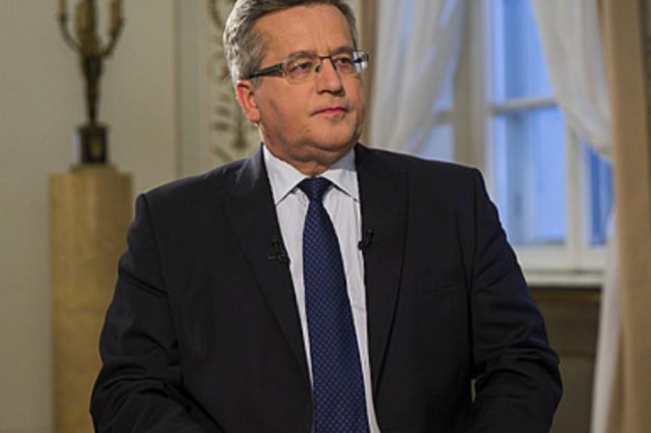 Bronisław Komorowski: samorząd jest inwestycją na przyszłość