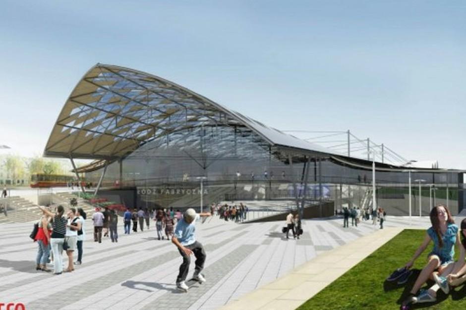 Jeszcze w tym roku pierwsze pociągi przyjadą na dworzec Łódź Fabryczna