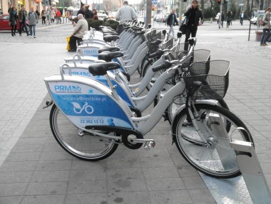 Poznań podwaja liczbę miejskich rowerów