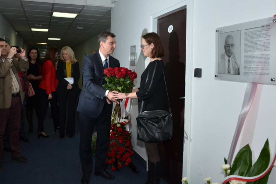 Uroczystość nadania sali w MAC imienia prof. Michała Kuleszy