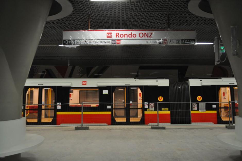 Ostatnie jazdy testowe na II linii metra. Metro może pojechać za kilka dni