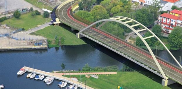 W Kołobrzegu otwarto most Portowy