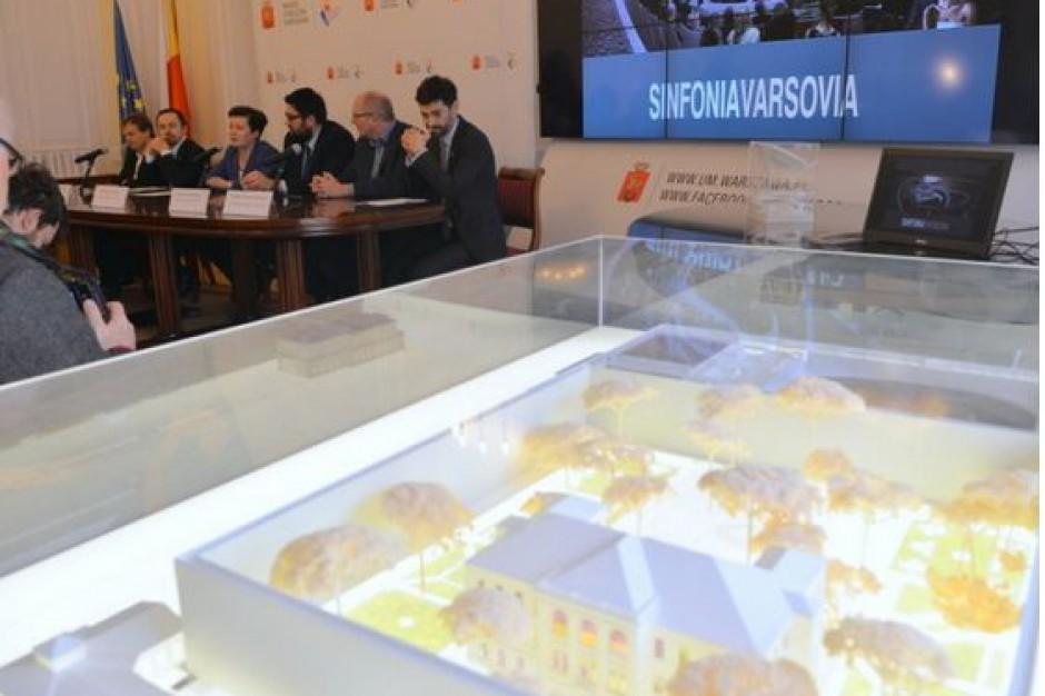 Prawie 280 mln zł na nową siedzibę Sinfonii Varsovi