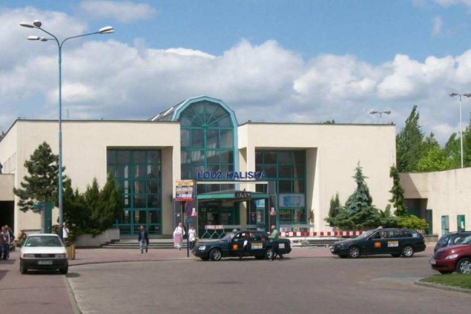 Z pociągu na autobus i tramwaj. Przy dworcu kolejowym Łódź Kaliska będą centra przesiadkowe