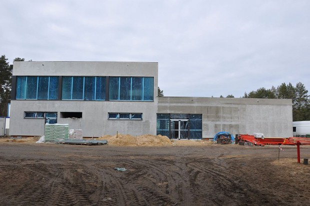 Trwają prace wykończeniowe na budowie bydgoskiego Zakładu Termicznego Przekształcania Odpadów Komunalnych