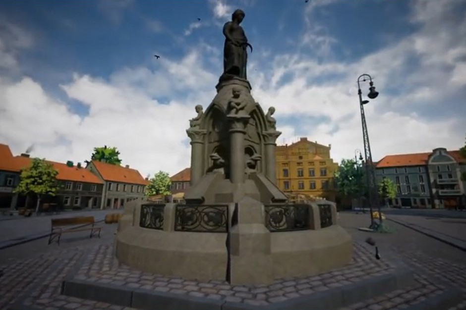 Dzięki wirtualnej rzeczywistości odbudowano przedwojenne miasto
