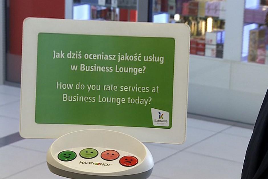 Lotnisko w Pyrzowicach zbiera opinie pasażerów. To jedyny taki system w kraju