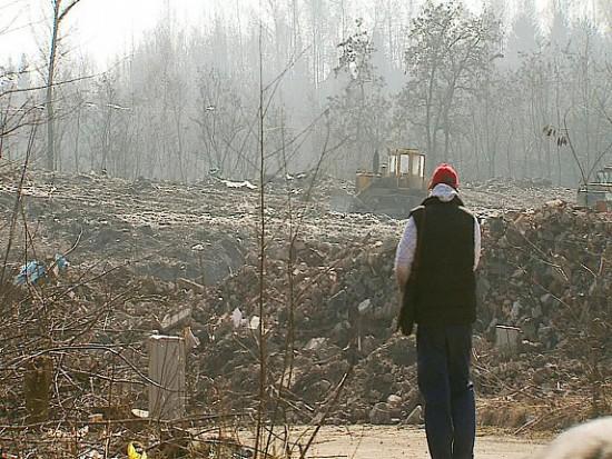 Pod oknami mieszkańców Siemianowic Śląskich powstało nielegalne wysypisko śmieci. Miasto musi się tym zająć