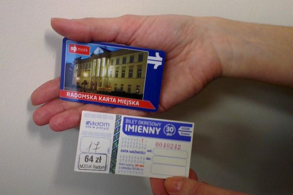 Wszystkie bilety okresowe komunikacji miejskiej w Radomiu w wersji elektronicznej