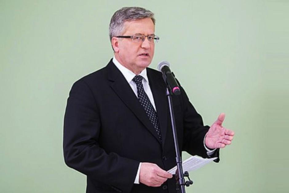Bronisław Komorowski przedstawi projekt noweli Kodeksu pracy wprowadzający elastyczne korzystanie z urlopów rodzicielskich