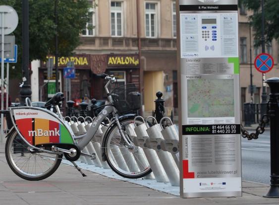 W największych miastach rowery miejskie dostaną ochronę