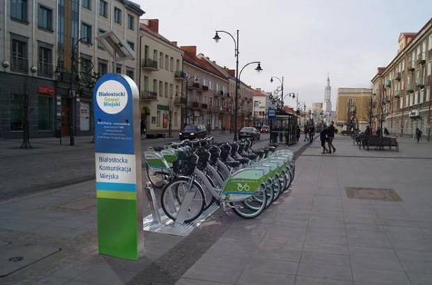 24 marca zaczną działać rowery miejskie w Białymstoku