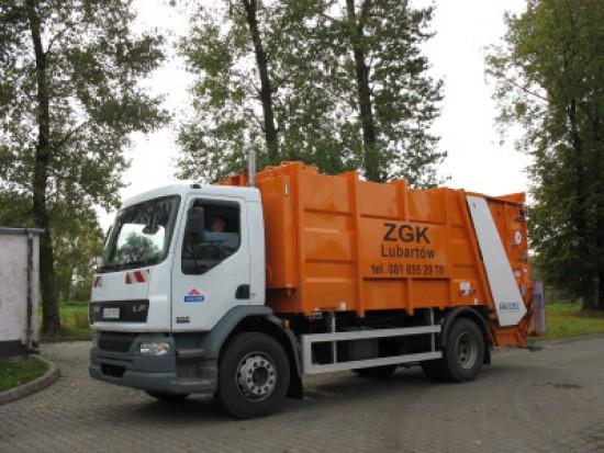 Lubartów, stawki: wzrost opłat za wywóz śmieci