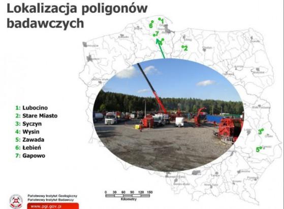 GDOŚ: Wydobycie gazu łupkowego nie wpływa znacząco na środowisko