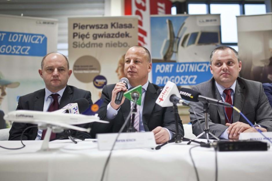 Startuje połączenie lotnicze z Bydgoszczy do Frankfurtu