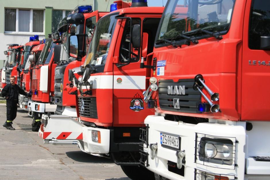 Akcja protestacyjna w Państwowej Straży Pożarnej w czterech województwach