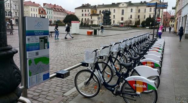 W Bydgoszczy można już jeździć na miejskich rowerach