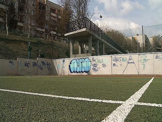 Wandale z Wodzisławia zniszczyli nowy kompleks boisk w Rodzinnym Parku Rozrywki