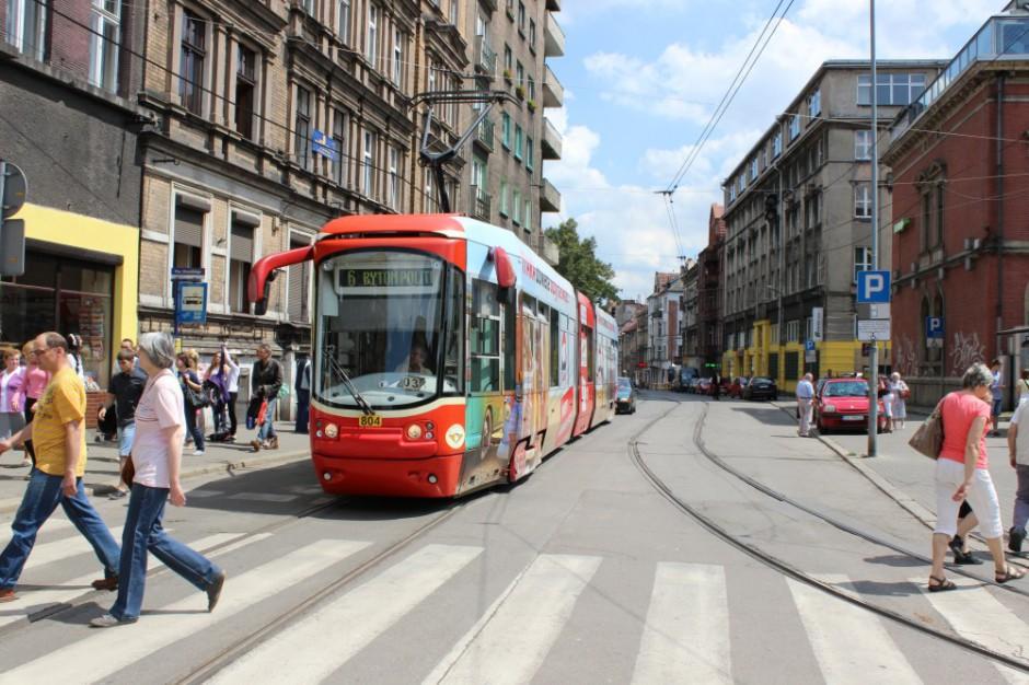 Tramwaje Śląskie wyremontują odcinek ul. Katowickiej w Bytomiu