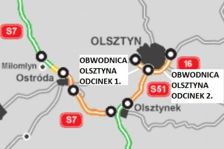 Południowa obwodnica Olsztyna powstanie za trzy lata