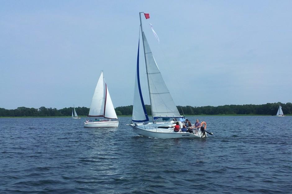 Na Mazurach początek sezonu żeglarskiego