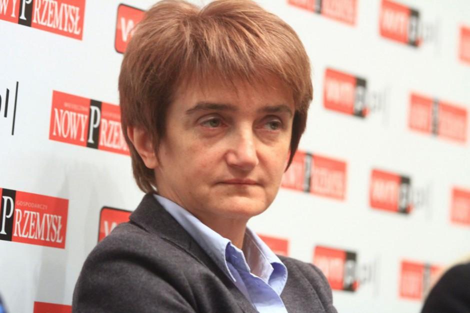 Maria Wasiak: Zostaniemy przy obecnym systemie poboru opłat na autostradach