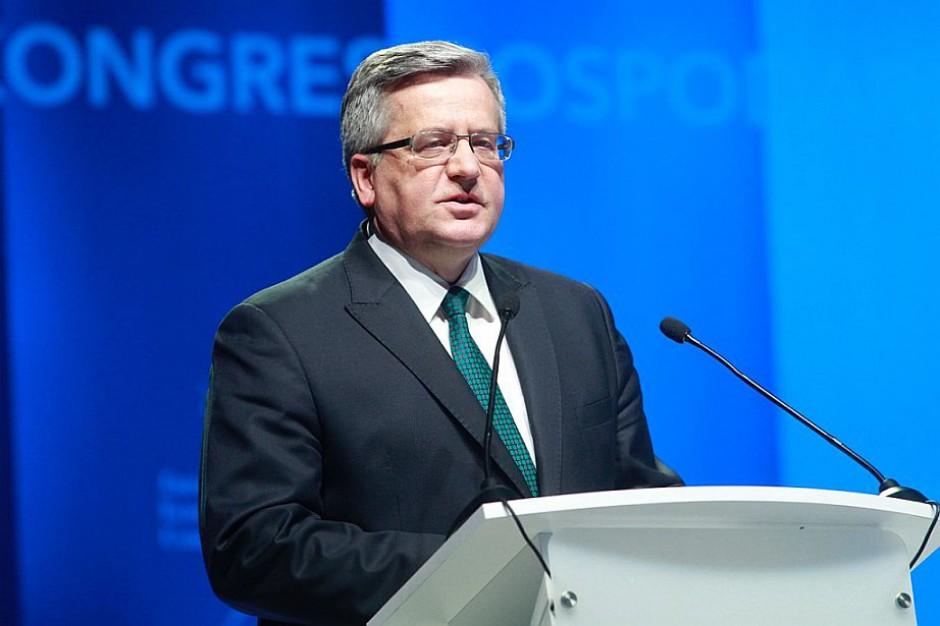 EEC 2015, Bronisław Komorowski: Reindustrializacja szansą na przyspieszenie rozwoju całej Europy