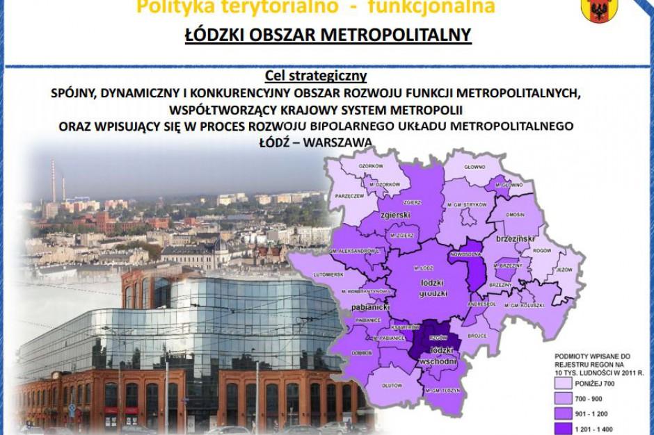 Metropolia łódzka najważniejszym obszarem strategicznym regionu