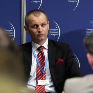 Łukasz Czopik, prezes zarządu, dyrektor Generalny, Górnośląskie PrzedsiębiorstwoWodociągów SA w Katowicach.