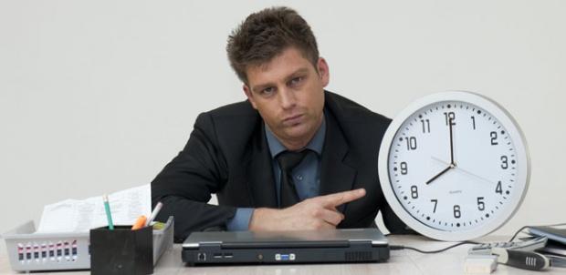 Pracujemy niecałe 8 godzin na dobę