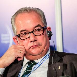 Karl-Heinz Merfeld, kierownik, Biuro Wspierania Gospodarki, Urząd Miasta Kolonii