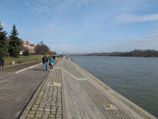 Toruń, Bulwar Filadelfijski: będzie modernizacja, dominować ma zieleń