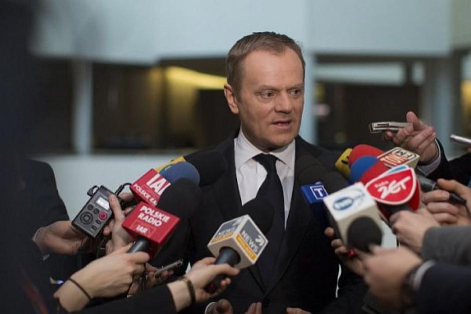 Donald Tusk: Polska powinna przyjąć określony limit imigrantów