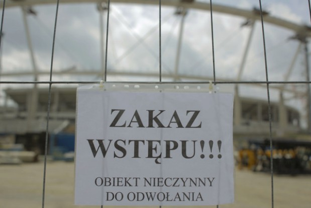 Stadion Śląski wciąż czeka na dach. Byle do czerwca