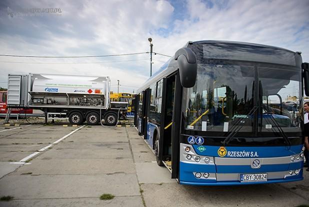 Tarnów chce mieć autobusy zasilane skroplonym gazem ziemnym