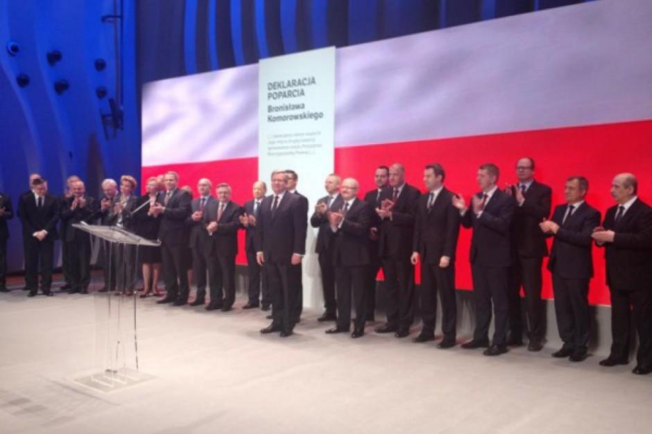 Wybory prezydenckie 2015, II tura: polityczne poparcie płynie z samorządów
