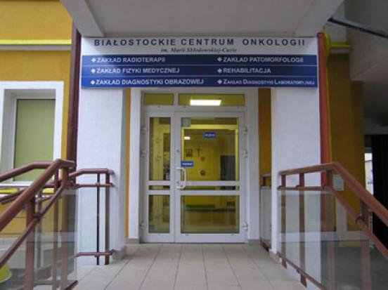 Białostockie Centrum Onkologii zmodernizowano za 85 mln zł