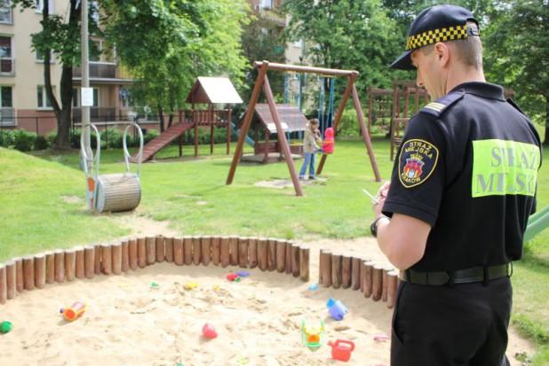 Krakowskie place zabaw pod lupą straży miejskiej