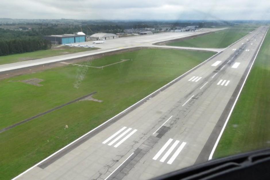 Nowa droga startowa lotniska w Katowicach najdłuższa w Polsce