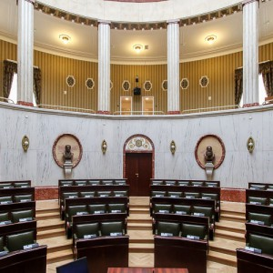 Sala Sejmiku po remoncie