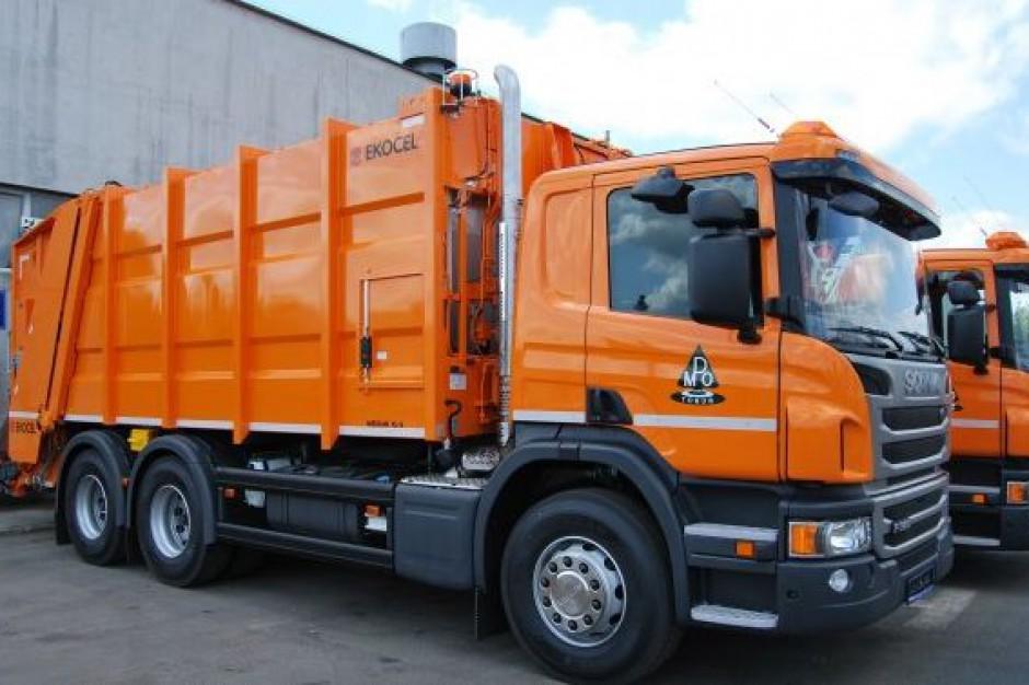 Toruńskie MPO chwali się nowymi śmieciarkami
