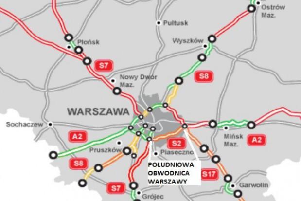Południowa Obwodnica Warszawy: KIO sprawdzi przetarg