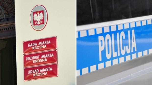 """""""Policyjna"""" sesja Rady Miasta w Krośnie"""