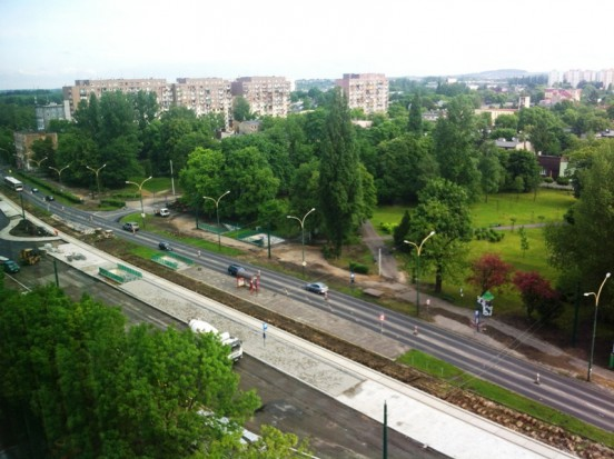 Ważna ulica Sosnowca przechodzi kolejny etap przebudowy