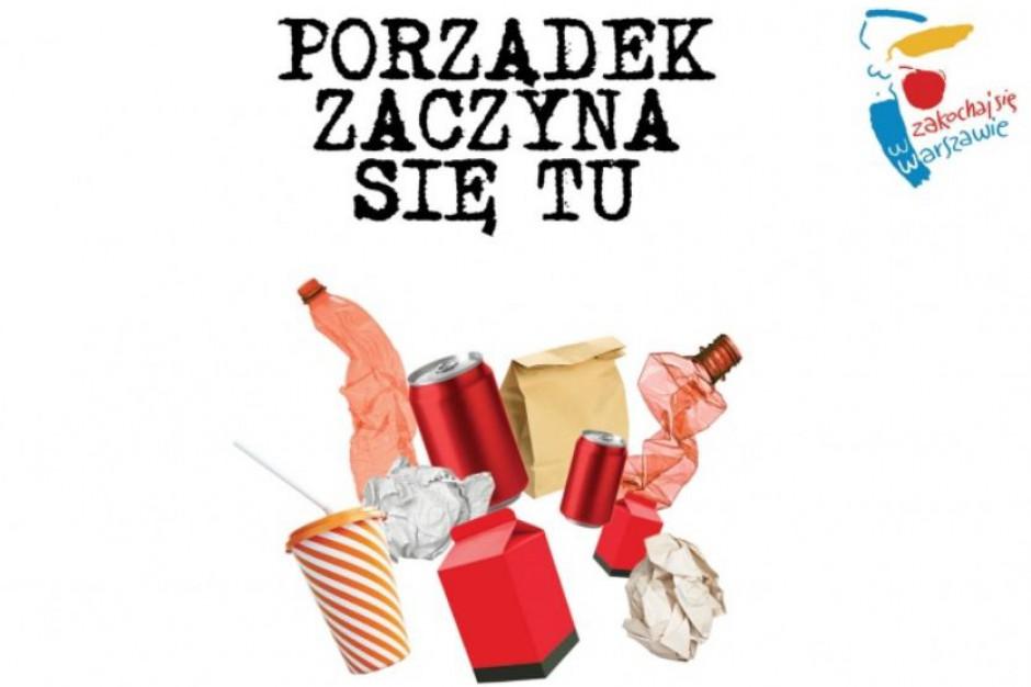 Odpady komunalne, Warszawa: 638,5 tys. ton śmieci, 18,4% segregowanych