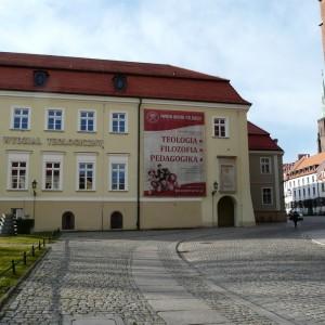 Najstarsza część Wrocławia –Ostrów Tumski przed zmianami.