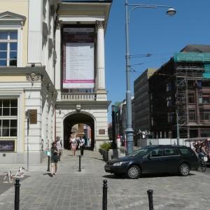Opera Wrocławska przy ul. Świdnickiej przed.