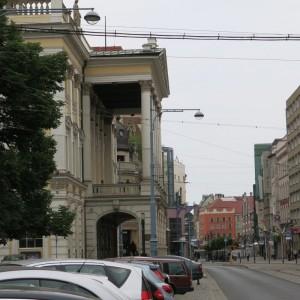 Opera Wrocławska przy ul. Świdnickiej po.