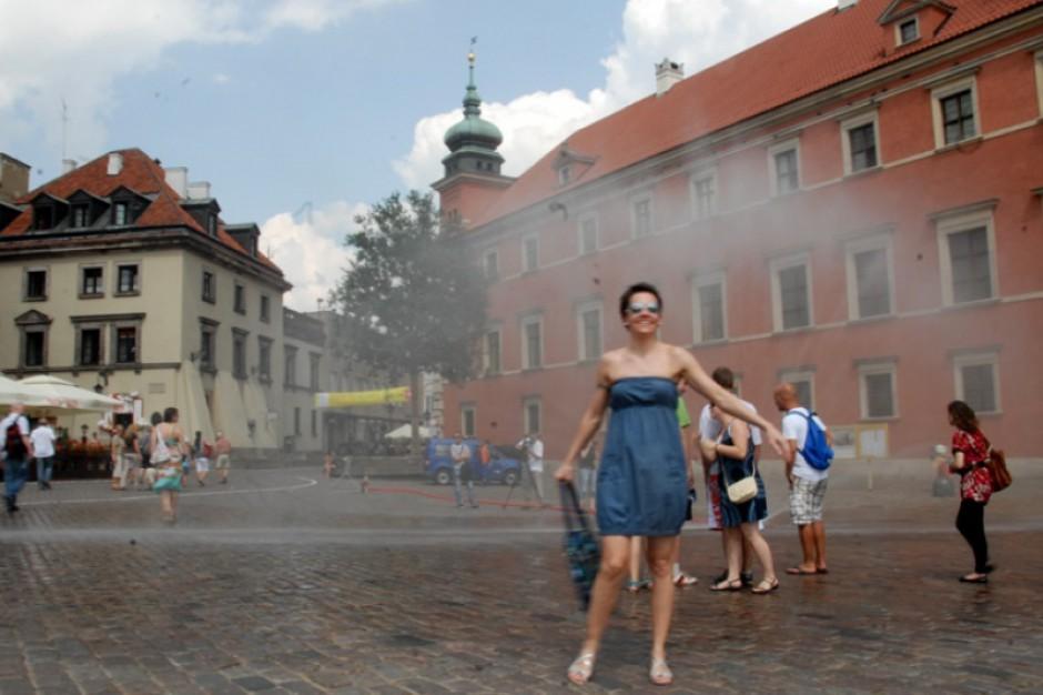 Kurtyny wodne, Warszawa: gdzie umiejscowione